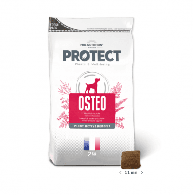 Пълноценна храна за кучета с костни и ставни заболявания Pro-Nutrition Flatazor Protect Osteo, 100 ГР НАСИПНО