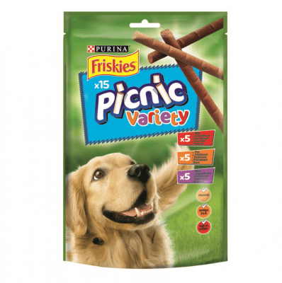 Лакомство за кучета в зряла възраст PURINA FRISKIES Dog Picnic , Асорти , 126гр.