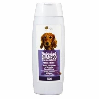 Шампоан и балсам за кучета Natural Selection, Успокоявящ - с алое вера и масло от жожоба, 200 мл