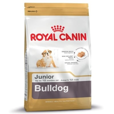 """Royal Canin Bulldog Junior"" - Суха храна за Английски булдог до 12 месеца"