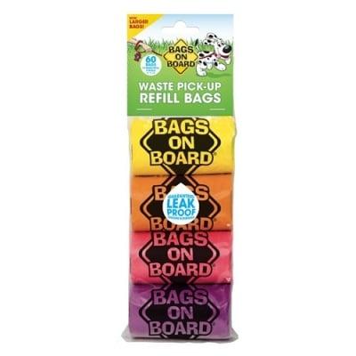 Bags on Board - Резервни хигиенни торбички, 4 рокли х 15 броя