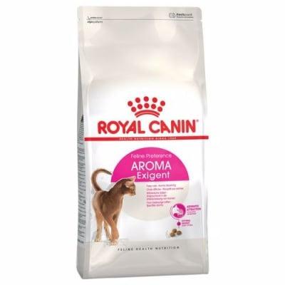 Royal Canin Exigent 33 Aromatic - суха храна за котки, претенциозни и чувствителни към миризми - три разфасовки