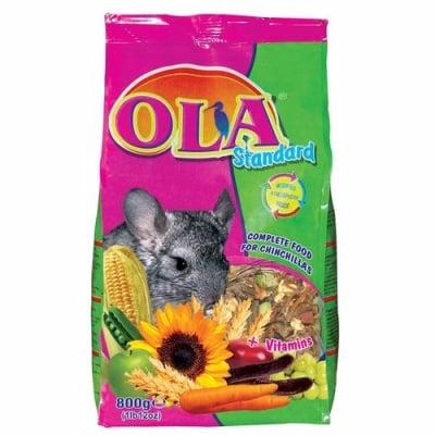 Храна за чинчила OLA Standard, 800 гр