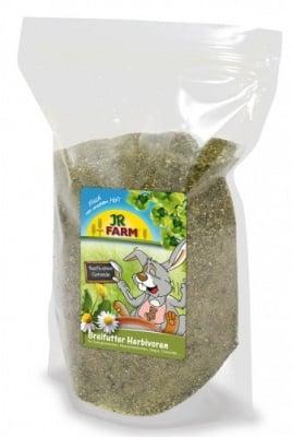"""""""Каша за мини зайци и морски свинчета"""" - С билки, плодове и зеленчуци"""