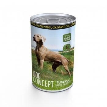 """""""DOG CONCEPT"""" - Консерва за кучета -различни вкусове"""