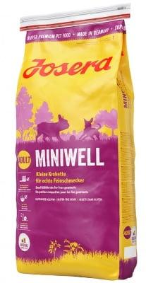 """""""Josera Miniwell"""" - Храна за израснали кучета от дребни породи"""