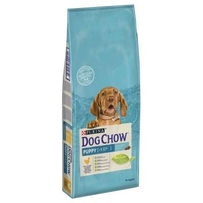 Суха храна за малки кученца от всички породи Purina Dog Chow Puppy, 100ГР НАСИПНО