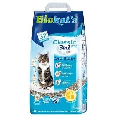 Aроматизирана котешка тоалетна Biokat's Cotton Blossom, 10.00кг