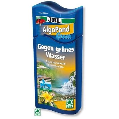 JBL AlgoPond Green - Премахва проблемите с позеленяването на водата (плуващи алги) - 250мл; 500мл