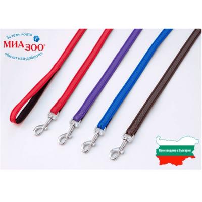 Тънък повод въже за куче Ексклузив, различни размери и цветове, Миазоо