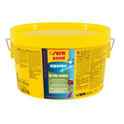 sera siporax pond algenstop Professional - биологичен филтърен материал против водорасли, 1 кг