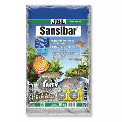 JBL Sansibar GREY - 10кг - дънен, подхранващ субстат за сладководни или соленоводни аквариуми и териариуми