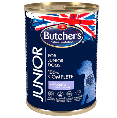 Butchers Life Junior 400гр- Храна за малки кучета от 1 до 6 месечна възраст - два вкуса