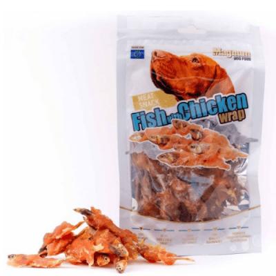 Лакомство за куче Magnum Сушена риба с пилешко месо, 80 гр.