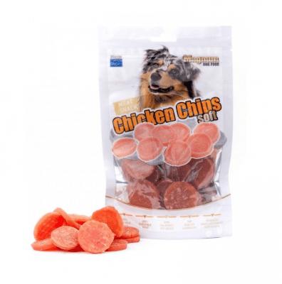 Лакомство за куче Magnum Пилешки чипс, 80гр
