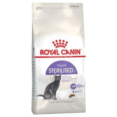 Royal Canin Sterilised 37  - Пълноценна храна за кастрирани котки - насипен вариант