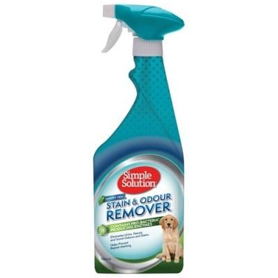 Спрей за кучета Simple Solution S&O Remover Rainforest против петна и миризми, тропическа гора 750ml