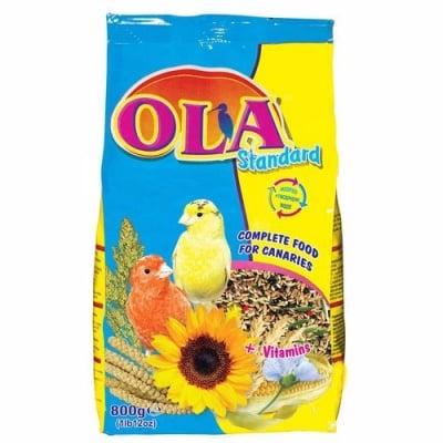Храна за канарчета OLA Standard, 800 гр