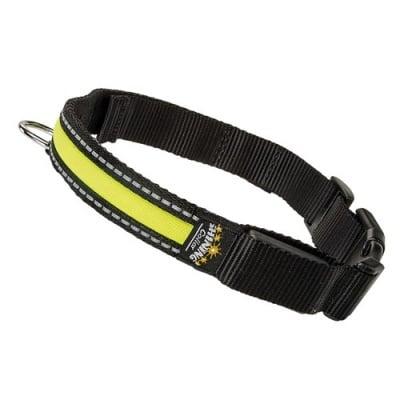 Светещ нашийник за кучета Night Collar с LED светлини - три размера