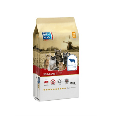 CAROCROC CAT LAMB 31/18 - Пълноценна храна с агне и ориз за котки от всички породи от 1 до 8 години - различни разфасовки