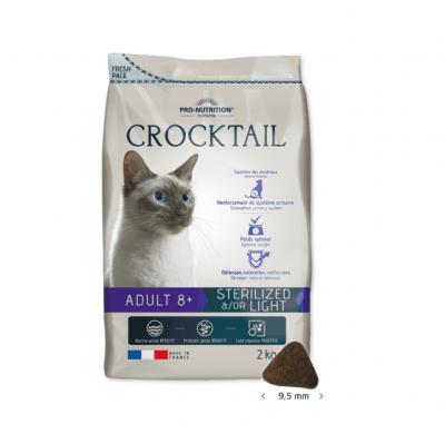 Храна за кастрирани котки над 8 години Flatazor Crocktail ADULT 8+ STERILIZED &/OR LIGHT, две разфасовки