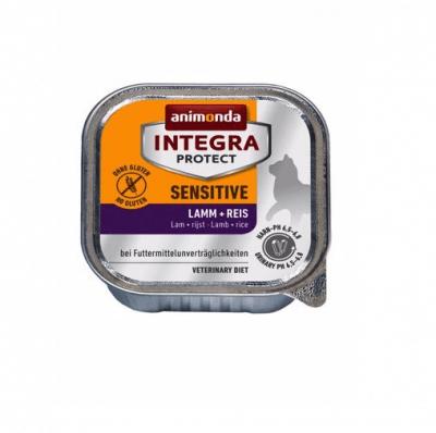 Пастет за алергични котки с чувствителен стомах Animonda Integra Sensetive, 100гр, два вкуса