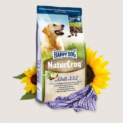 Премиум храна за кучета Happy Dog – Natur Croq XXL-15.00кг - За пораснали кучета от големи и гигантски породи