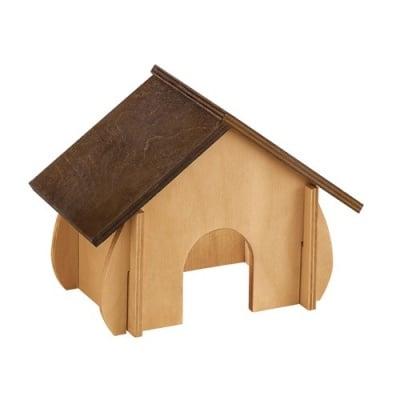 Ferplast дървена къща за гризачи - различни размери