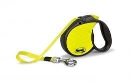 """""""Flexi Neon Medium"""" - Автоматичен повод за кучета до 20 кг."""
