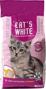 """""""Бенто CAT's WHITE"""" - Пълнител за котешка тоалетна"""