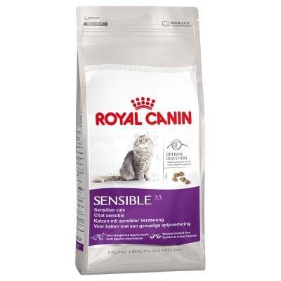 """""""Royal Canin Sensible"""" - Храна за зрели котки с храносмилателна чувствителност"""