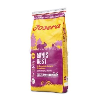 """""""JOSERA MINISBEST"""" - Храна за подрастващи и израснали активни кучета от дребни породи"""