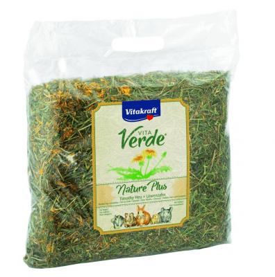Сено за гризачи с глухарче Vitakraft Vita Verde, 500гр