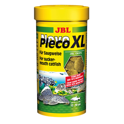 JBL NOVOPLECO XL 250ML -ХРАНА ЗА ГОЛЕМИ РАСТИТЕЛНОЯДНИ РИБИ
