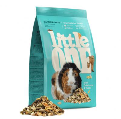 Храна за морско свинче с витамин C, Little One, 900gr