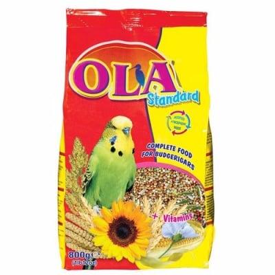 Храна за вълнисти папагали OLA Standard, 800 гр