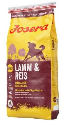 """""""Josera Lamb & Rise"""" - Храна за израснали кучета с агнешко и ориз"""