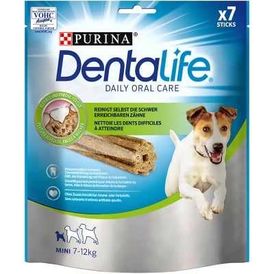 Лакомсво за кучета от дребни породи за устна хигиена PURINA DENTALIFE Sticks , 115гр