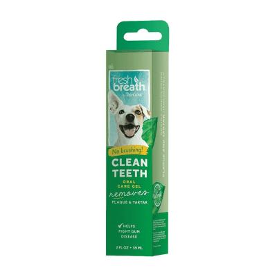 Почистващ гел против зъбен камък и плака за кучета Tripiclean,  59мл
