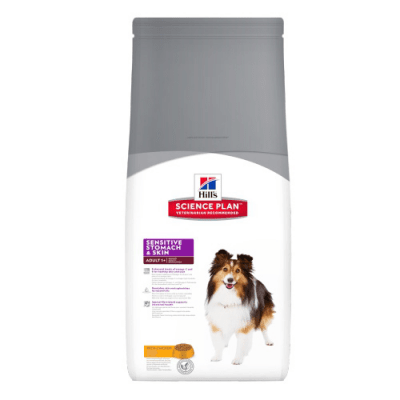 """""""Science Pla Canine Sensitive Stomach & Skin Adult"""" - Храна за кучета над 1 година с чувствителен стомах и чувствителна кожа"""