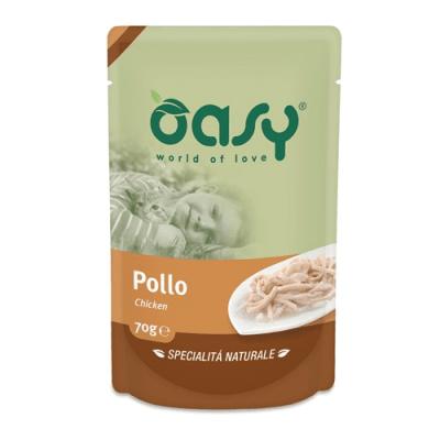 Пауч за котка Oasy Cat Specialita Naturali, 70 гр - различни вкусове