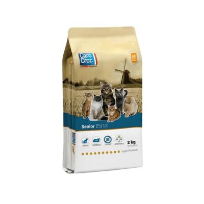 CAROCROC CAT SENIOR 25/12 - Пълноценна храна за котки над 8 години от всички породи - три разфасовки