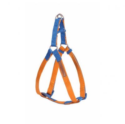 Нагръдник за куче Camon DOUBLEPREMIUM ORANGE/BLUE, различни размери