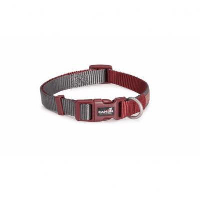 Нашийник за куче DOUBLEPREMIUM GREY/RED, различни размери