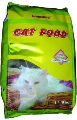 """""""Любимец"""" - Суха храна за котки с различни вкусове"""