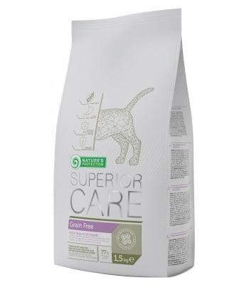 """""""Grain Free"""" - специална храна за кучета над 1 година с деликатна храносмилателна система"""