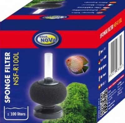 Aqua Nova Филтърна гъба за аквариуми до 100л NSF-R100L
