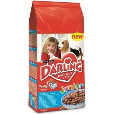 """""""Darling Junior"""" - Храна за подрастващи кученца с пилешко месо"""