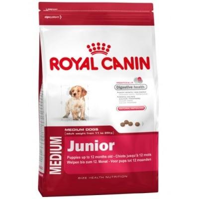 """""""Medium Junior"""" - Храна за кученца от средни породи до 12 месеца"""