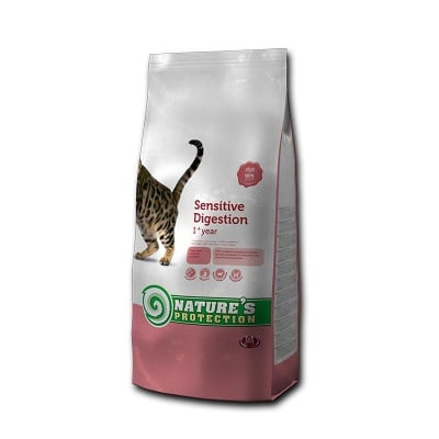 """""""Sensitive Digestion"""" - Храна за капризни котки"""